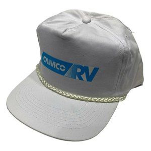 Vintage 90s CAMCO RV Camping Snapback Trucker Hat